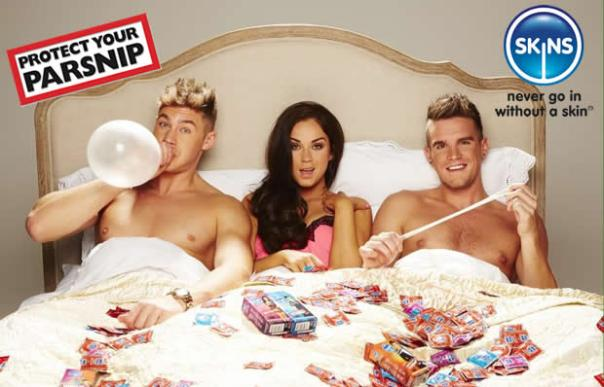 Geordie Shore skins-condoms-protect