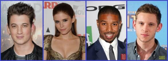 Fantastic four reboot cast