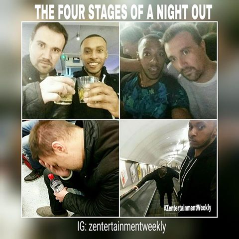 Night out meme