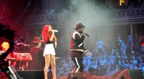 Will i am Lydia Lucy Royal Albert Hall London 2016